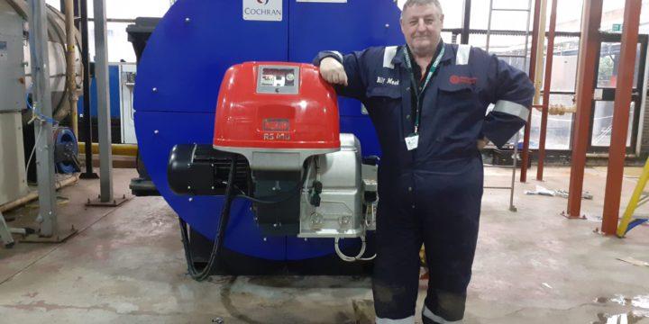 Cochran HW29 high pressure hot water boiler