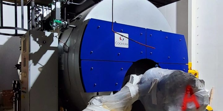 Cochran steam boilers supplied and delivered to Dr Pepper in Dublin
